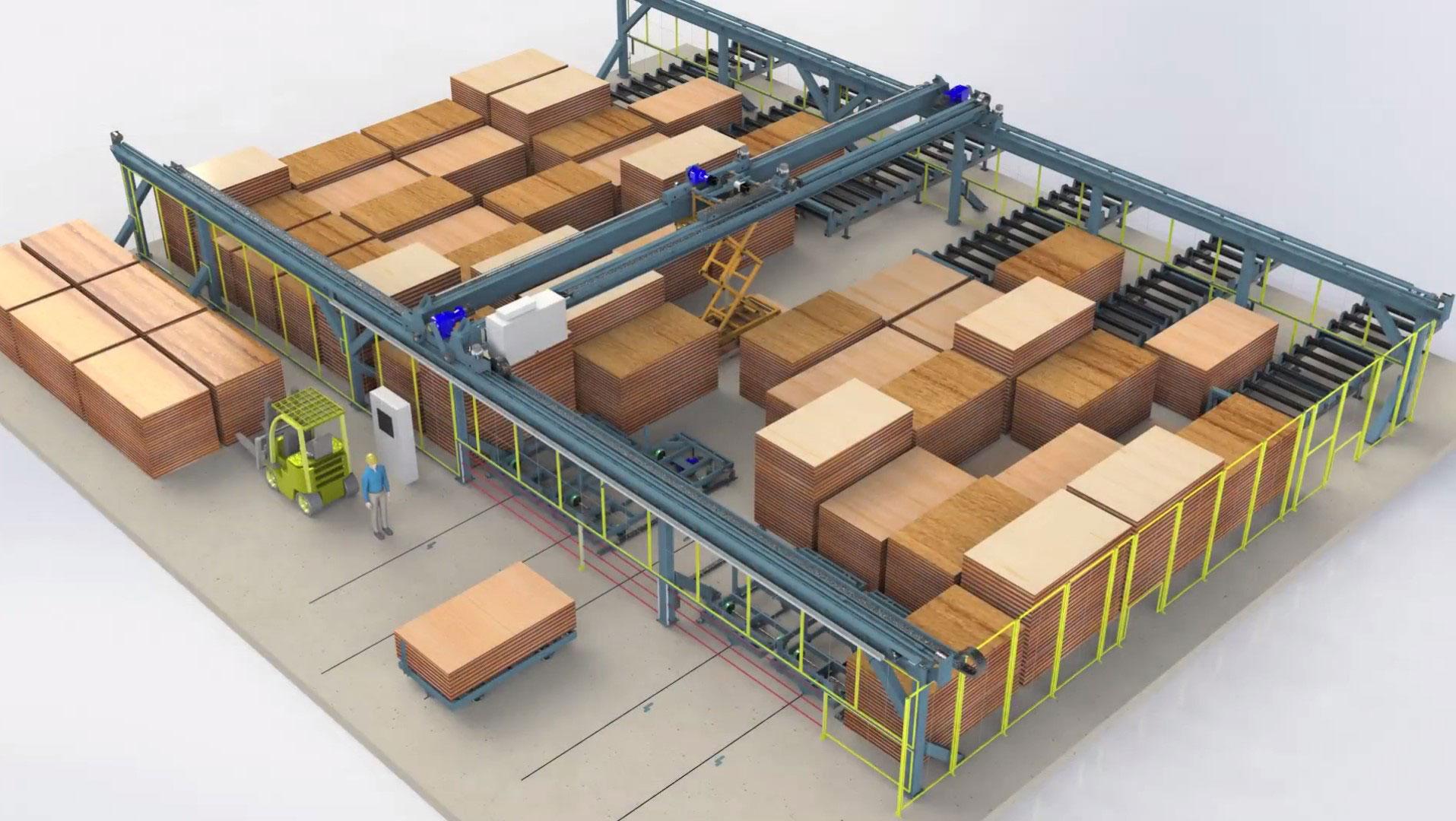 Entrepôt automatisé